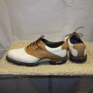 FootJoy Dryjoys Golf Shoes Soft Spikes Size 12W